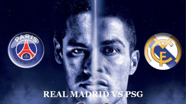 Real Madrid Vs Psg Ucl 2018 Uefa Champions League