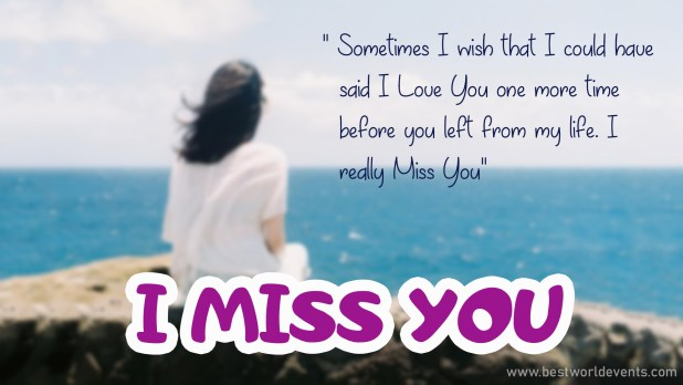 I miss you so much Wishes & Quotes