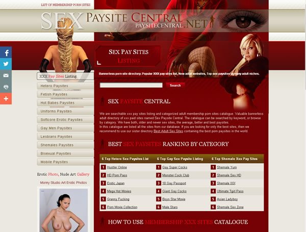 All Membership Pay Porn Sites Listing Very Popular Catalog Of Paid Sex Sites