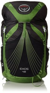 Osprey Packs Exos 48 zaino - Ottima fattura e volume intermedio