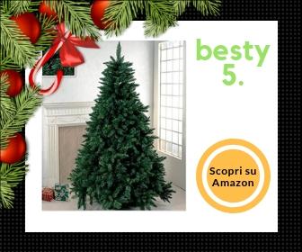 Albero di Natale super folto da 210 cm