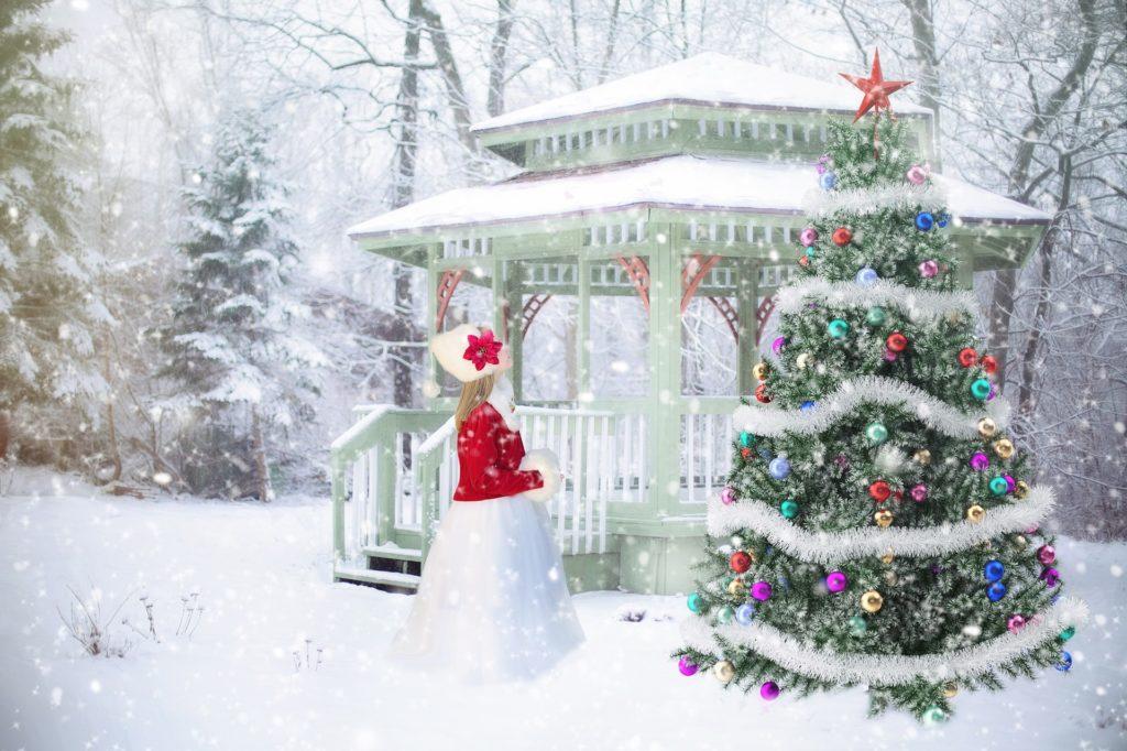 Albero di Natale innevato: guida all'acquisto - Immagine in evidenza