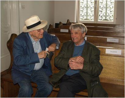 Branko Lustig i Predrag Matvejević
