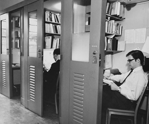 Photo from http://paw.princeton.edu/issues/2012/02/08/pages/9857/NB_carrel1947.jpg.