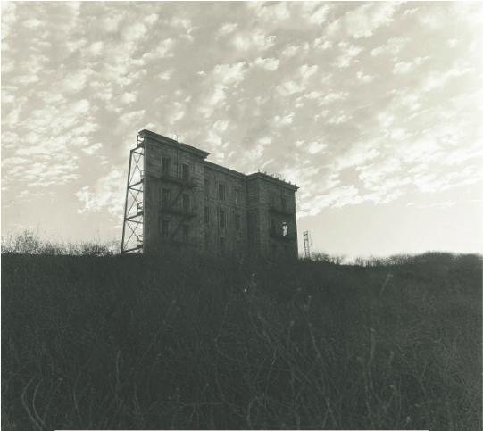 Daniel Abbus, A House on a Hill. Hollywood CA 1963