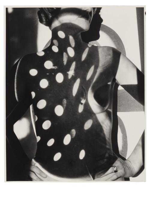 Arthur Siegel, Nude and Projection, 1947, gelatin silver print