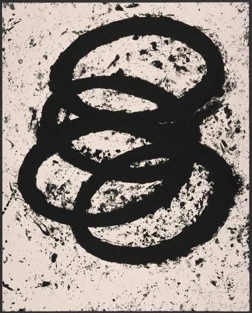 RICHARD SERRA T.E. Siegen, 1998-99 Etching on Somerset Satin paper.  59.625 x 47.5 in (151.45 x 120.65 cm)