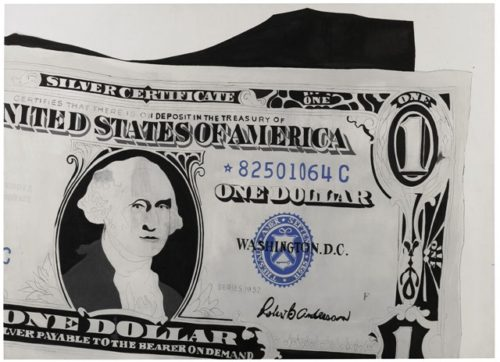 Andy Warhol, Dollar Bill