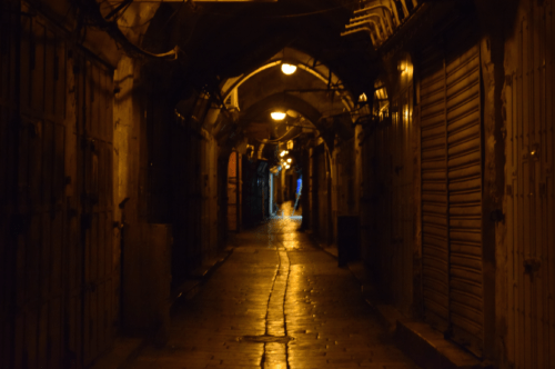 Old City at Night, Photo by Author