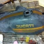 Ducati gas tank