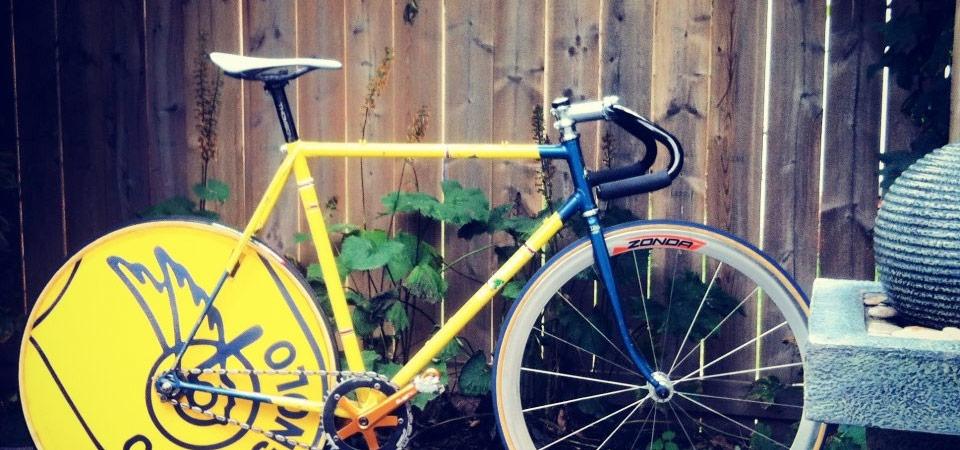 campy track bike
