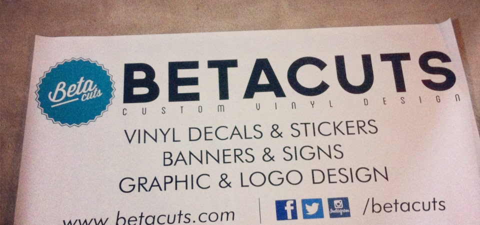 Vinyl banners for sale