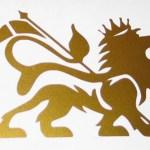 Zion lion sticker