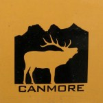Canmore sticker