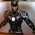 Ironman Macbook Pro laptop sticker