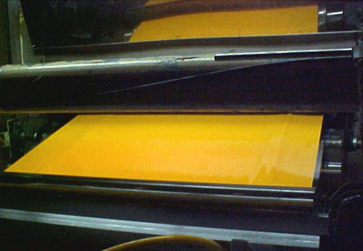 Calendered Vinyl film - Photo courtesy of SignIndustry.com