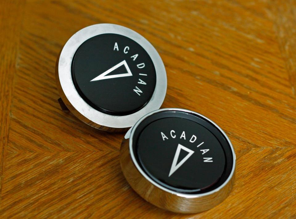 ACADIAN horn caps