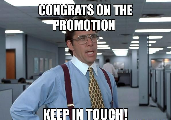 congrats meme for promotion