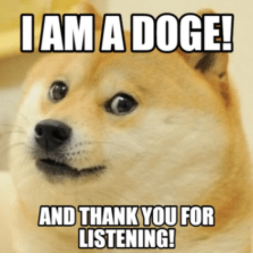 puppy thank you meme