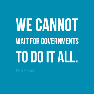 Kofi Annan Quote, Make a Difference