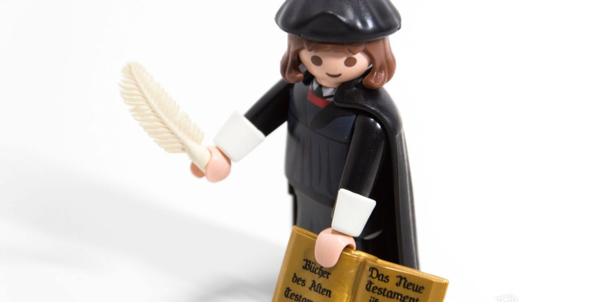 Playmobil 9325 - Martin Luther, 500 Jahre Reformation 1517-2017