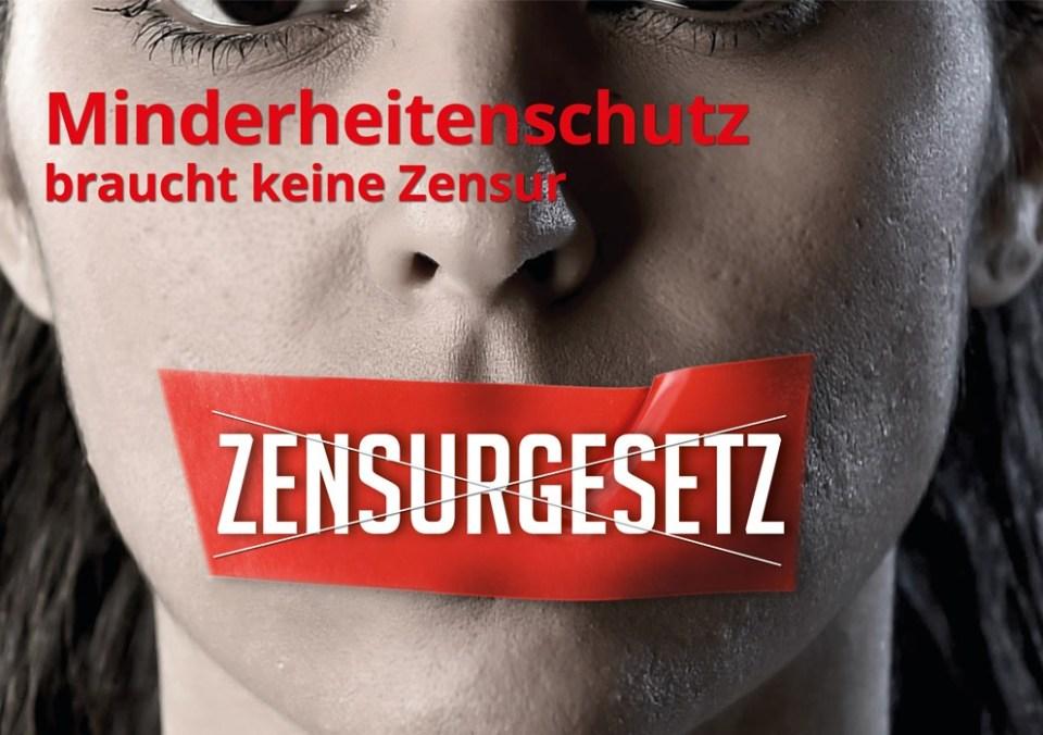 Minderheitenschutz braucht keine Zensur