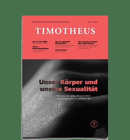 Timotheus Magazin #35 - Cover