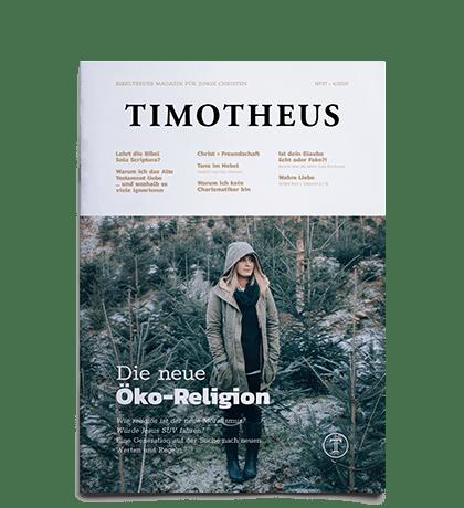 Timotheus Magazin #37 - Cover