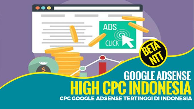 Daftar CPC Adsense Tertinggi Indonesia 2021