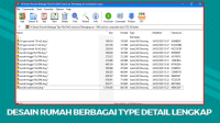 Download Desain Rumah Berbagai Tipe File DWG AutoCad Terlengkap