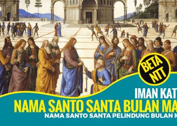 Nama Santo dan Santa Pelindung Gereja Katolik Bulan Maret