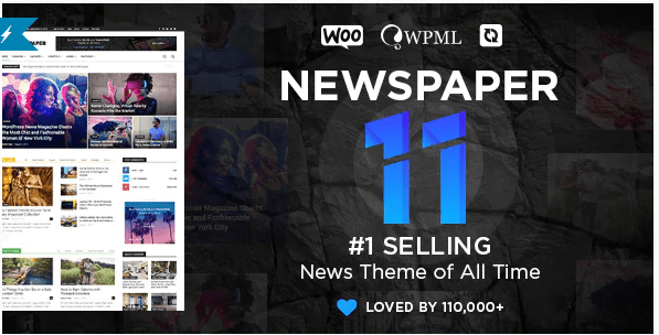 Free Download Newspaper v11.2 WordPress Theme (Activated)