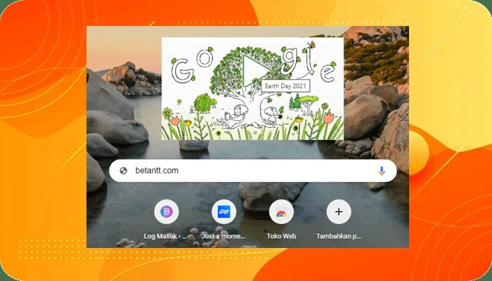 Google Doodle Hari Ini (224) Peringati Hari BumiEart Day 2021