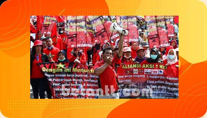 Hari Buruh Nasioanal 2021, KSPI Akan Desak 2 Isu Utama