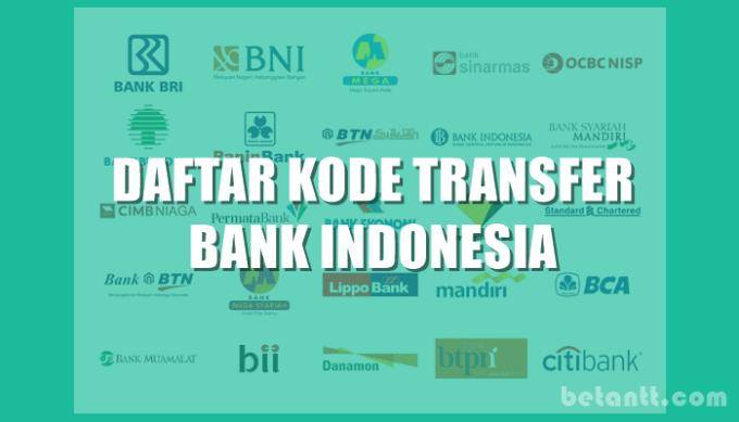 Daftar Kode Bank di Indonesia Terlengkap 2021