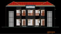 Download Gambar Rencana Asrama, RAB dan Laporan Struktur
