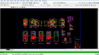 Download Rumah Ukuran 6x15 M Bestek Lengkap DWG AutoCAD