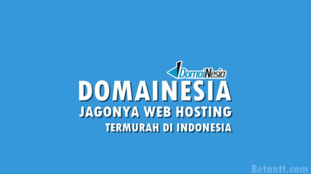 Web Hosting Murah di Indonesia? DomaiNesia Jagonya!