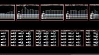 Download Contoh Gambar Profil Long Cross Irigasi DWG AutoCAD