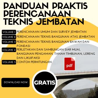 Download Panduan Praktis Perencanaan Teknis Jembatan Terbaru 2021