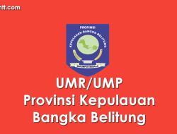 Data UMP/UMR Kabupaten/Kota di Provinsi BABEL 2021