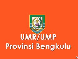 Data UMP/UMR Kabupaten/Kota di Provinsi Bengkulu 2021