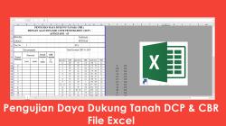 Download Pengujian Daya Dukung Tanah DCP & CBR File Excel