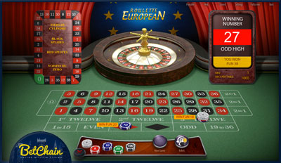 European roulette betchain