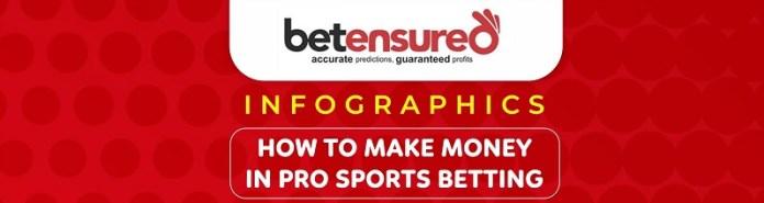 make money on pro sports betting