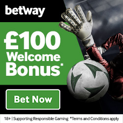Betway – £100 Welcome Bonus