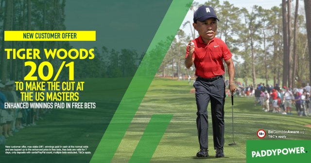 Tiger Woods New Customers Offer