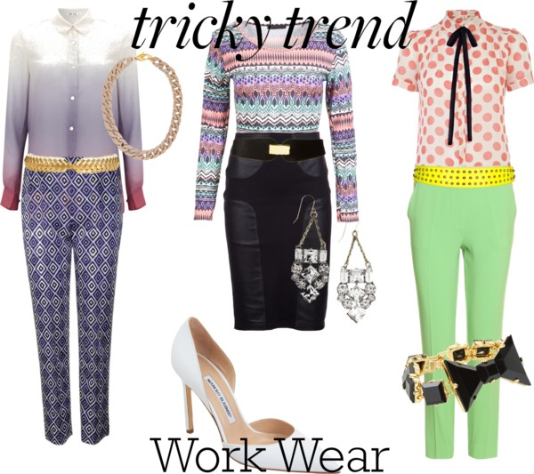 3 ways to wear tricky trends at work