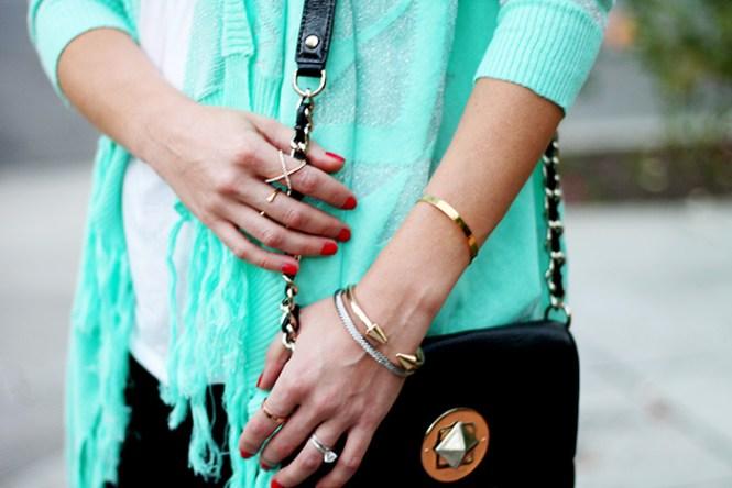 bauble bar personalized bracelet, cara nordstrom bracelet, baublebar ring, Crystal Mason Ring