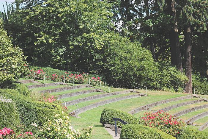 portland or rose garden